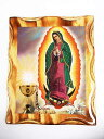 【GUADALUPE WALL PICTURE-A】29CMx24CM【壁掛け】MEXICAN ITEMS【メキシコ雑貨】グアダルーペ【マリア】
