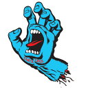 【Santa Cruz】サンタクルーズ【Screaming Hand Decal 3inch】約5.5 x 8.5cm【スケート】ステッカー【スクリーミングハンド】ネコポス..