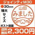 大きめ直径30mm!評価印などにも★イラストスタンプ ジョインティ M30 (スタラボver)定型外送料無料