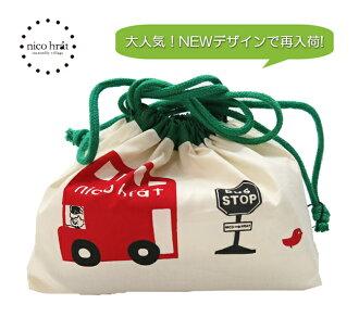 기다리게 했습니다! 재 입 하! Nico hrat 니코니코 도시락 가방 (런던 버스)