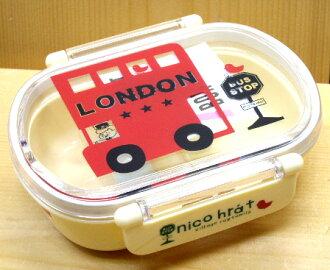 인기 상품! 재 입 하 ♪ 귀여운 장난감에서 즐거운 점심 ♪ nico hrat 니코니코 런치 박스 (런던 버스)