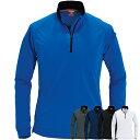 4,300円以上お買い物で送料無料! BURTLE(バートル) 長袖ジップシャツ ポロシャツ 413