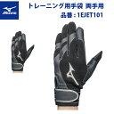 ミズノ 両手用 トレーニング用手袋 1EJET101 大人 一般 mizuno