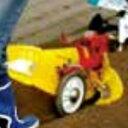 クボタ耕運機TMC200/TMS30用 ニューイエロー培土機(尾輪付)A 91223-40410 kubota耕耘機/アタッチメント/耕運機/耕うん機/家庭菜園/畝立て/送料無料