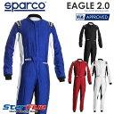 スパルコ レーシングスーツ 4輪用 EAGLE 2.0(イーグル)FIA8856-2018公認 2020年モデル SPARCO(サイズ交換サービス)