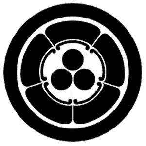 家紋「丸に五瓜に三つ星」
