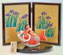 五月人形 木彫り人形 一刀彫 南雲 「新生 鯉のり金太郎」 NU-544 【smtb-s】【楽ギフ_包装】【楽ギフ_のし宛書】