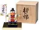 木彫り五月人形 子供大将 南雲作「桃太郎」NU-512【楽ギフ_包装】【楽ギフ_のし宛書】