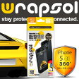 【iPhone 5/5S 対応液晶保護フィルム】Wrapsol【ラプソル】ULTRA Screen Protector System - FRONT + BACK 前面+側面+背面 衝撃吸収 保護フィルム for iPhone 5 / 5s 【WPIPSULTR-FB】【メール便/送料無料】