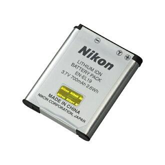 尼康尼康真正 en el19 電池包鋰離子電荷池塘數碼相機數碼相機 fs04gm