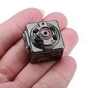 SQ8 超小型カメラ ビデオカメラ 暗視機能 赤外線撮影 動体検知 防犯カメラ 監視カメラ 探偵 浮気調査 ミニ ドライブレコーダー