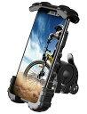 【2020改良版】 片手操作 自転車用 スマホ ホルダー スタンド Lomicall 2020 自転車 ワンタッチ スマートフォンホルダー : ロードバイク クロスバイク バイク すまほ ホルダー
