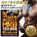 【NO.1ランキング6冠達成!】 ドラゴンマッスル HMB 100,000mg ダイエット 日本製 HMB HMBサプリ BCAA クレアチン EAA 筋肉サプリ ダイエット ダイエットサプリ カルニチン ギムネマ 筋トレ HMBオススメ