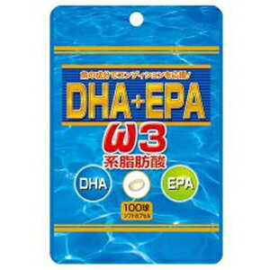 ユウキ製薬SP DHA+EPA オメガ3 100球