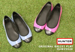 ������̵���ۡ��ǥ�����/HUNTER/�ϥ󥿡�/ORIGINALBALLETFLAT/�ե�åȥ쥤�󥷥塼��/���֡�HUW25224