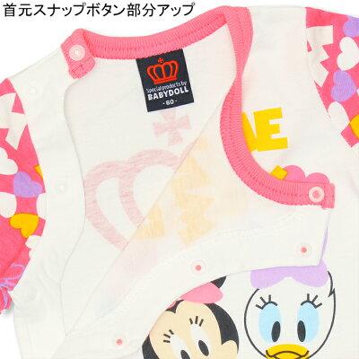e0a5a1e52d9eb ディズニー 3点コーデギフトセット(帽子 長袖ロンパース ミトン)-子供服 ...