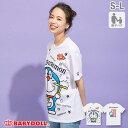 ショッピングキャラクター ドラえもん キャラクター Tシャツ 2285A ベビードール BABYDOLL 子供服 大人 ユニセックス 男女兼用 レディース メンズ