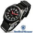 楽天スーパーSALE/スーパー/SALE [正規品] スミス&ウェッソン Smith & Wesson スイス トリチウム ミリタリー腕時計 SWISS TRITIUM MILITARY H3 WATCH BLACK SWW-1864T [あす楽] [ラッピング無料] [送料無料]