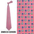 エンリココベリ ENRICO COVERI ネクタイ レギュラータイ Des.1114 12//DES-1114-12【新品・正規品】
