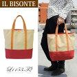 【新品】【新生活応援価格になりました】イルビゾンテ IL BISONTE キャンバストートバッグ L1153..T2 TELA//L1153-T2【ラスト1点】