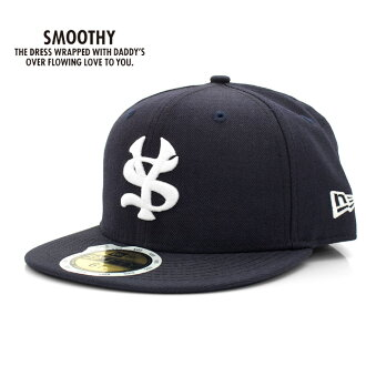 SMOOTHY( smoothie) X NEW ERA( new era) 59FIFTY collaboration cap (11AC-18) SMOOTHY, smoothie