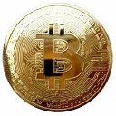 ゴルフマーカー ビットコイン bitcoin ゴルフ レプリカ 仮想通貨 雑貨 コインケース付き 金運アップのお守りに ギフト プレゼント パーティー