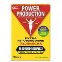 POWER PRODUCTION クエン酸&BCAA HYPOTONIC DRINK グリコ パワープロダクション クエン酸&BCAA ハイポトニックドリンク(12.4g×10本)