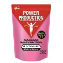 送料無料 グリコ パワープロダクション POWER PRODUCTION MAXLOAD マックスロード ホエイプロテイン ストロベリー味 サプリメント 1.0kg