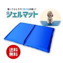 ペット 熱中症対策 猛暑対策 夏 犬 猫吸熱 冷却 マット シート ひんやり ジェルエコ 吸収 体温 熱 便利 青防水 カバー クール クールダウン気持ちいい 清涼 ペット用品 寝具 ベッドペットクールジェルマットLサイズ