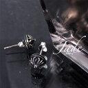 ショッピングbigbang 【メール便送料無料】 STERLING スターリング CROSS BALL PIERCE メンズ 2018春夏 SILVER925 シルバー F/フリーサイズ ST18-011