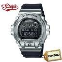 CASIO GM-6900-1 カシオ 腕時計 デジタル G-SHOCK Gショック Metal Bezel メンズ ブラック シルバー カジュアル
