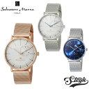 【あす楽対応】Salvatore Marra サルバトーレマーラ 腕時計 アナログ クォーツ SM17105M-SSSV・SM17105M-SSBK・SM17105M-SSBL・SM17105M-PGSV ステンレス メンズ【送料無料】