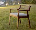 アートにデザインされてラインが特徴のAJIM(アジム)の チェアです。ibiza chair walnut イビザ ...
