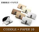 【CODDLE/コドル】+PAPER 10/ポケットティッシュカバー/ポケットティッシュ入れ/紙