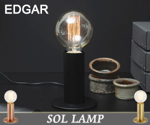 【EDGAR/エドガー】Sol Lamp(ソルランプ)/電球/テーブルライト/デスクライト/スタンドライト/卓上照明