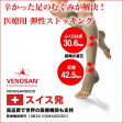 【足のだるさ】を解放。 医療用 弾性ストッキング  ベノサン5000。【下肢静脈瘤予防】や【血流促進】【リンパの流れ改善】が気になる人に。強い着圧力で足の不調を解消!