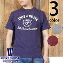 ウエアハウス WAREHOUSE 半袖 Tシャツ TIMES JEWELERS 4601