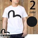 エヴィスジーンズ EVISU カモメ ペイント 半袖 Tシャツ ETC-0658KV