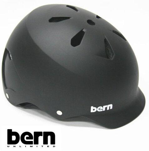 bern ヘルメット WATTS オールシーズンモデル Matte Black ジャパンフィット ワッツ 自転車 BMX スケボーヘルメット バーン ヘルメット【s5】