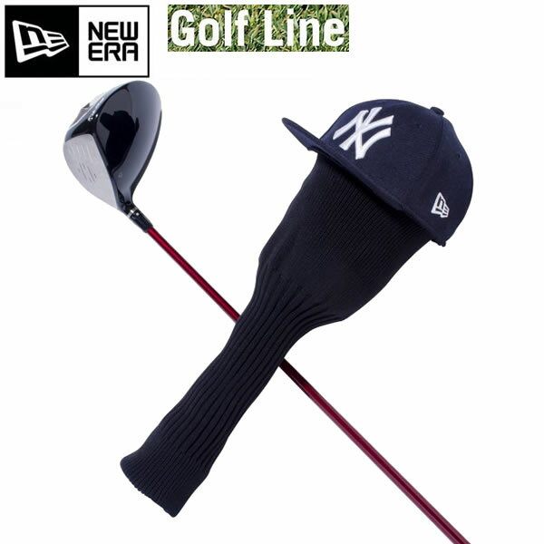 ニューエラ ゴルフ ヘッドカバー ネイビー 11225881 GOLF HEAD COVER ゴルフ用品 ゴルフ NEWERA Golf 【s3】