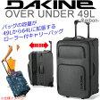 DAKINE ダカイン キャリーバッグ 16SS OVER UNDER 49L〜64L Carbon オーバーアンダー CAR AG237047 キャリーバッグ 旅行バッグ 大容量 スーツケース キャリーケース 旅行用かばん バッグローラー付【05P03Sep16】