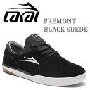 LAKAI ラカイ スニーカー FREMONT/BLACK SUEDE  ●28cmのみ スケートシューズ スケシュー【s8】