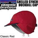 パタゴニア ハット ビーニー SHELLED SYNCH DUCKBILL CAP L-XL(60cm) Classic Red CSRD DWR(耐久性撥水) 22240 PATAGONIA シェルド シンチラ ダックビル キャップ ニットキャップ 帽子【s2】