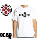 インディペンデント Tシャツ OGBC S/S ホワイト Independent Mens T-Shirt/ホワイト スケボー Tシャツ Independent Tシャツ【C1】【s3】