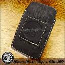 本革 スマホケース/iPone5/iPone4 対応/iPhone ケース/アイフォン ケース/スマートフォン ケース/レザー/牛革/モバイル ケース/デジカメ ケース/携帯 ケース/mob-003-bk