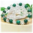 良質アベンチュリン×水晶AAA<天然石ブレスレット・パワース...