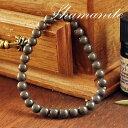 シャーマナイト 6mm ブレスレット シャーマナイト 天然石 パワーストーン ...