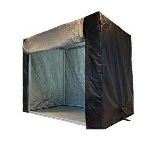 EMC試験用電波シールドテント<<【EMC-200】3重 M サイズ:長さ 100cm x 幅 100cm x 高さ 100cm 床用吸収カーペット付