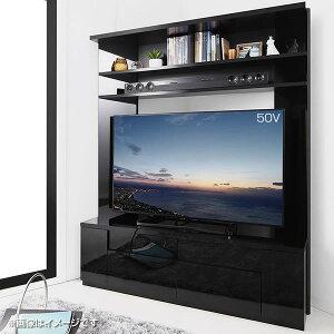 大型テレビ対応 ハイタイプ コーナーテレビ台 幅134