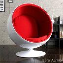 【送料無料/在庫有】 ボールチェア エーロ・アールニオ リプロダクト デザイナーズチェア ミッドセンチュリー チェア 椅子 北欧 デザイナーズ おしゃれ パーソナルチェア デザイナーズ家具 北欧 レッド ブラック